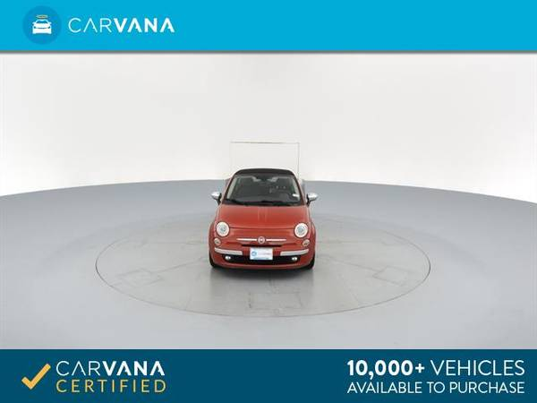 2012 FIAT 500 500C Lounge Convertible 2D Convertible RED - FINANCE for sale in Macon, GA – photo 19