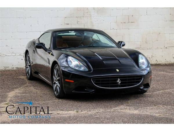 Affordable Exotic! '11 Ferrari California Roadster Convertible! for sale in Eau Claire, WI – photo 9