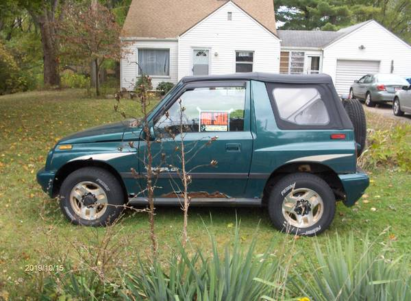 1996 GEO Tracker 4X4 for sale in Akron, OH – photo 4