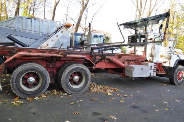 1997 mack 600 roll off for sale in westwood nj, NJ – photo 3
