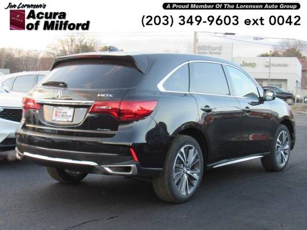 2019 Acura MDX SUV SH-AWD w/Technology Pkg (Majestic Black Pearl) for sale in Milford, CT – photo 4