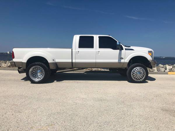 SUPER CLEAN LIFTED KING RANCH F350 DUALLY 6.7 POWERSTROKE DIESEL for sale in Boca Raton, FL – photo 5