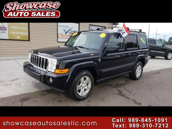 LEATHER 2007 Jeep Commander 4WD 4dr Sport for sale in Chesaning, MI