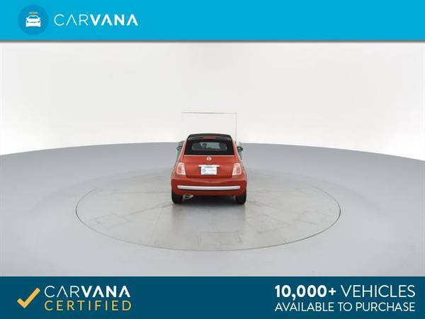 2012 FIAT 500 500C Lounge Convertible 2D Convertible RED - FINANCE for sale in Macon, GA – photo 20
