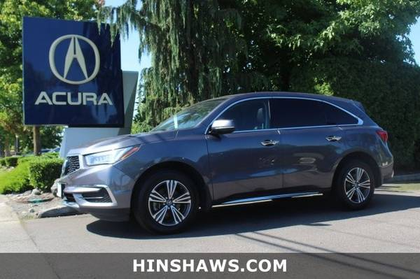 2017 Acura MDX AWD All Wheel Drive SUV for sale in Fife, WA