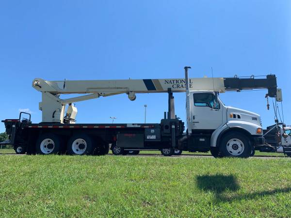 2002 Sterling National 1300 Series 30 Ton Crane Truck Boom Truck-... for sale in Jasper, MS – photo 5