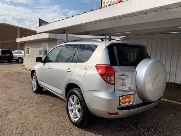 2007 TOYOTA RAV4 LIMITED for sale in Amarillo, TX – photo 3