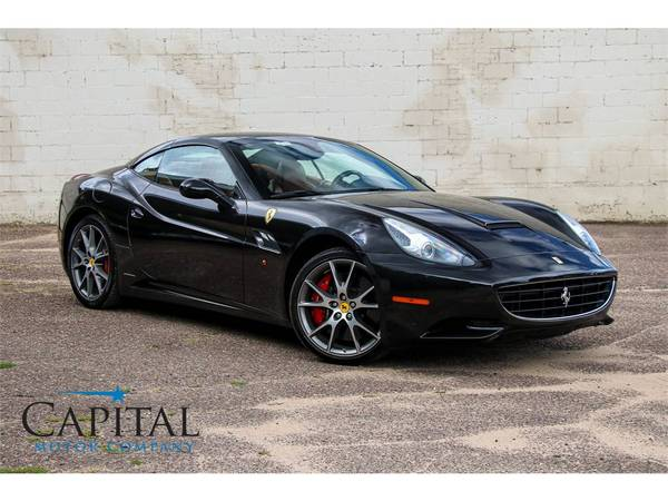 Affordable Exotic! '11 Ferrari California Roadster Convertible! for sale in Eau Claire, WI