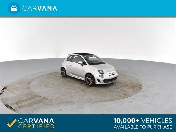 2014 FIAT 500c GQ Edition Cabriolet 2D Convertible Silver - FINANCE for sale in Atlanta, CA – photo 9