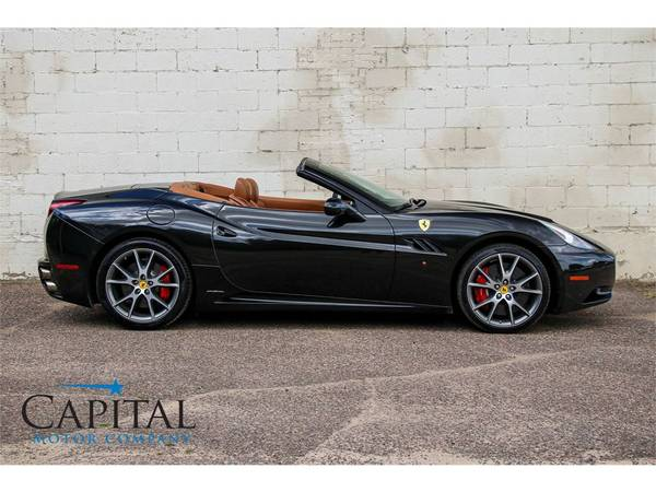 Affordable Exotic! '11 Ferrari California Roadster Convertible! for sale in Eau Claire, WI – photo 3