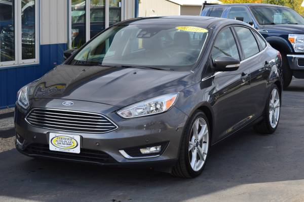 2015 Ford Focus Titanium - cars & trucks - by dealer - vehicle... for sale in Alexandria, MN – photo 2
