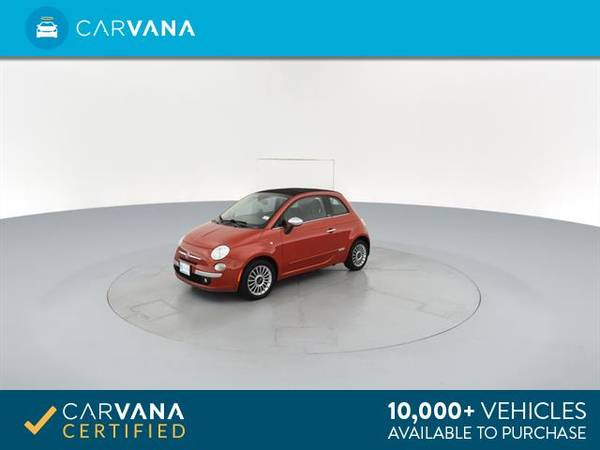 2012 FIAT 500 500C Lounge Convertible 2D Convertible RED - FINANCE for sale in Macon, GA – photo 6