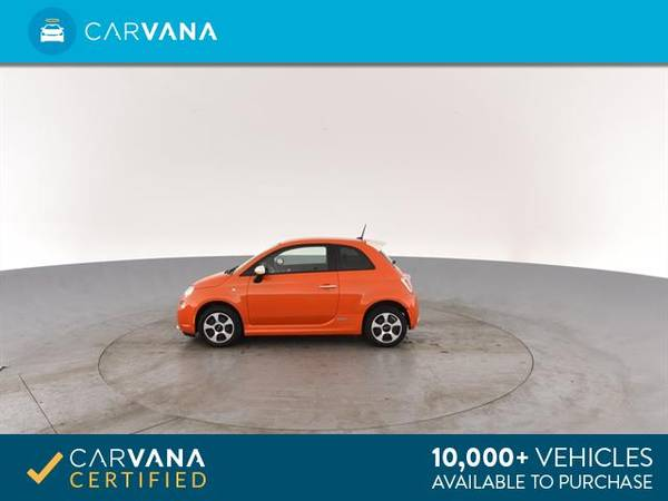 2014 FIAT 500e Hatchback 2D hatchback ORANGE - FINANCE ONLINE for sale in Tucson, AZ – photo 7