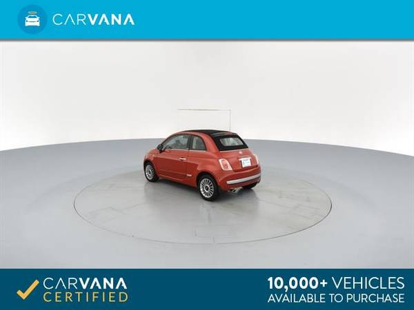 2012 FIAT 500 500C Lounge Convertible 2D Convertible RED - FINANCE for sale in Macon, GA – photo 8