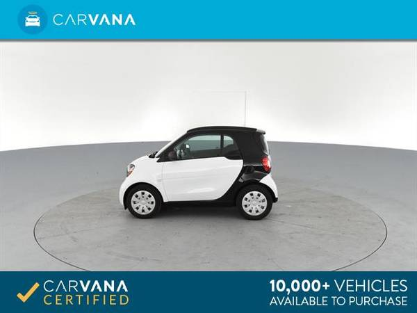 2017 smart fortwo Proxy Hatchback Coupe 2D coupe Black - FINANCE for sale in Arlington, District Of Columbia – photo 7