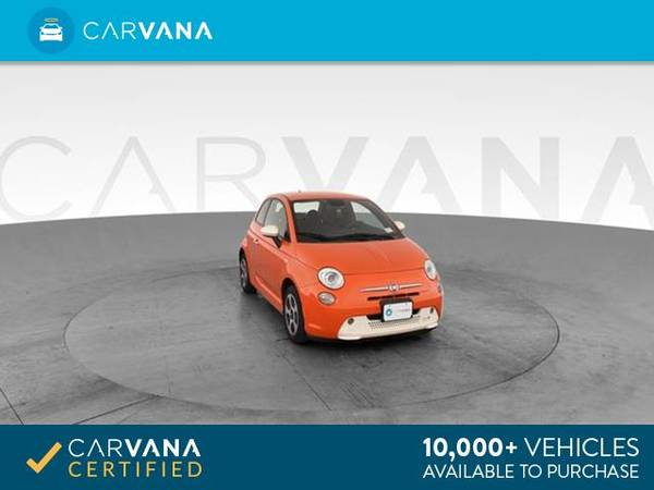 2014 FIAT 500e Hatchback 2D hatchback ORANGE - FINANCE ONLINE for sale in Tucson, AZ