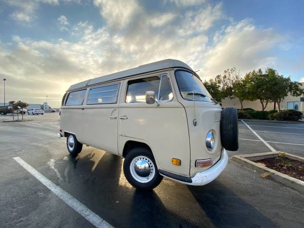 1969 Volkswagen Westy Camper Bus - cars & trucks - by owner -... for sale in South San Francisco, CA