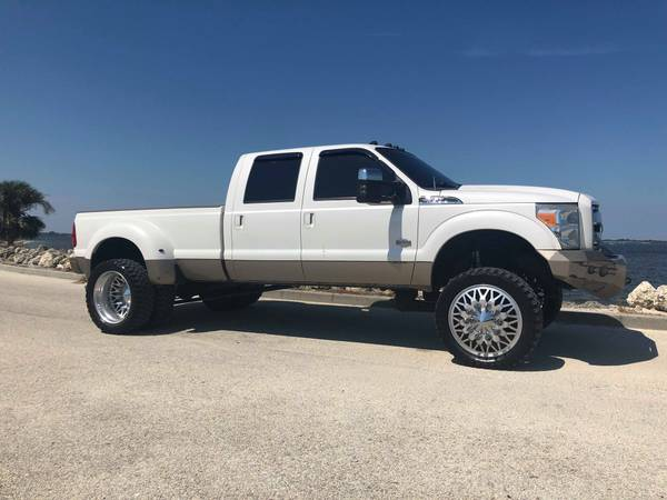 SUPER CLEAN LIFTED KING RANCH F350 DUALLY 6.7 POWERSTROKE DIESEL for sale in Boca Raton, FL – photo 6