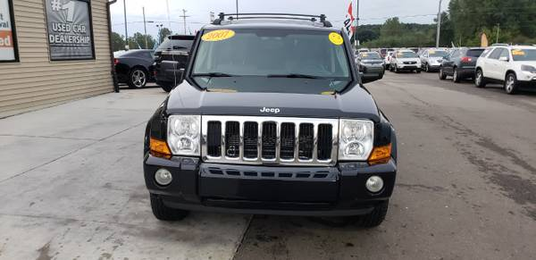 LEATHER 2007 Jeep Commander 4WD 4dr Sport for sale in Chesaning, MI – photo 2