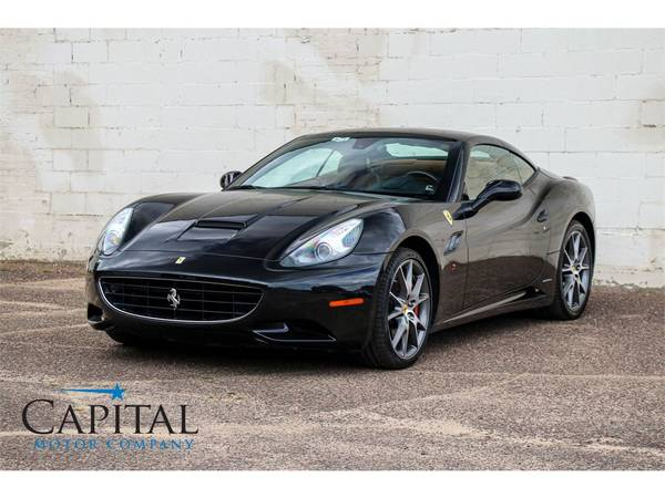 Affordable Exotic! '11 Ferrari California Roadster Convertible! for sale in Eau Claire, WI – photo 20