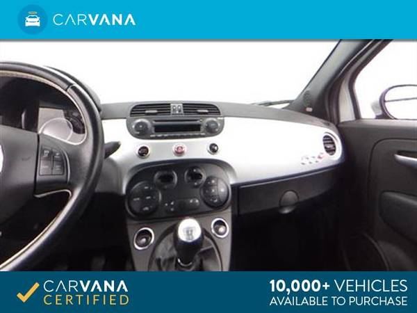 2014 FIAT 500c GQ Edition Cabriolet 2D Convertible Silver - FINANCE for sale in Atlanta, CA – photo 16