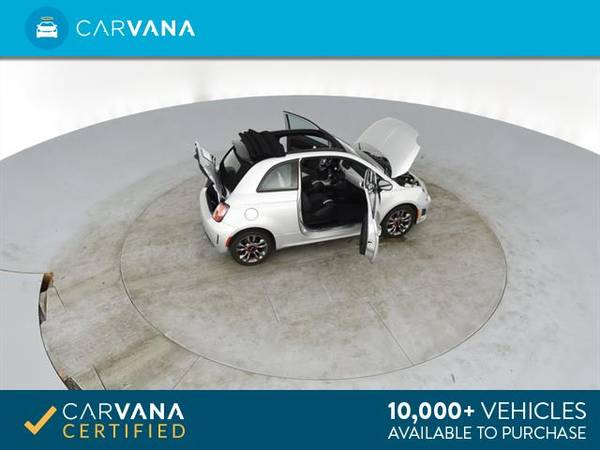 2014 FIAT 500c GQ Edition Cabriolet 2D Convertible Silver - FINANCE for sale in Atlanta, CA – photo 14