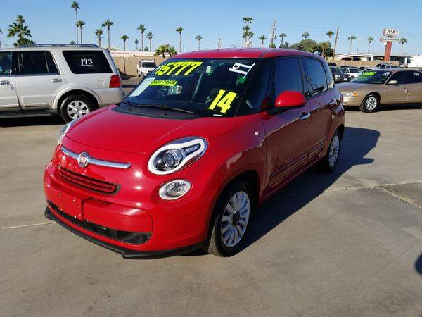 2014 Fiat 500L Easy FREE CARFAX ON EVERY VEHICLE for sale in Glendale, AZ – photo 2