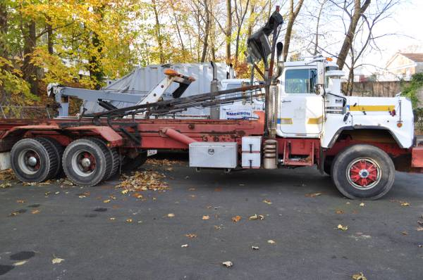 1997 mack 600 roll off for sale in westwood nj, NJ – photo 2