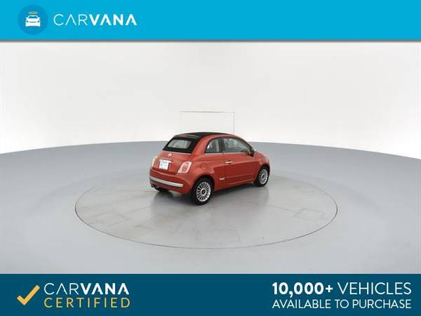 2012 FIAT 500 500C Lounge Convertible 2D Convertible RED - FINANCE for sale in Macon, GA – photo 11