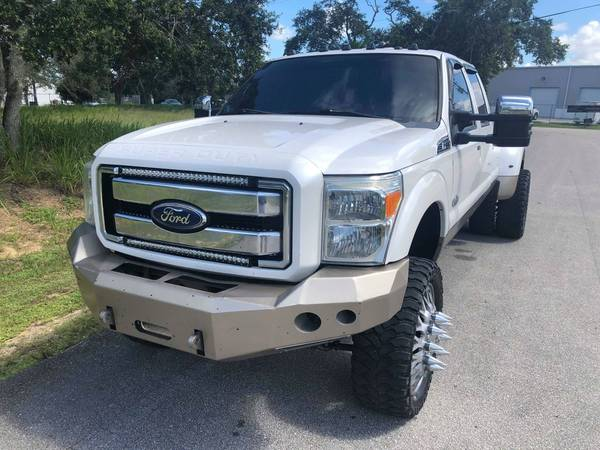 SUPER CLEAN LIFTED KING RANCH F350 DUALLY 6.7 POWERSTROKE DIESEL for sale in Boca Raton, FL – photo 10