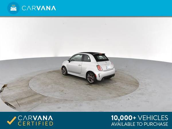 2014 FIAT 500c GQ Edition Cabriolet 2D Convertible Silver - FINANCE for sale in Atlanta, CA – photo 8