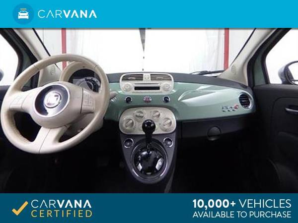 2013 FIAT 500 500c Pop Cabrio Convertible 2D Convertible Green - for sale in Sacramento , CA – photo 16