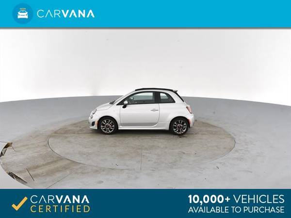 2014 FIAT 500c GQ Edition Cabriolet 2D Convertible Silver - FINANCE for sale in Atlanta, CA – photo 7