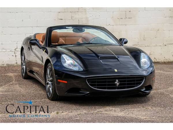 Affordable Exotic! '11 Ferrari California Roadster Convertible! for sale in Eau Claire, WI – photo 10