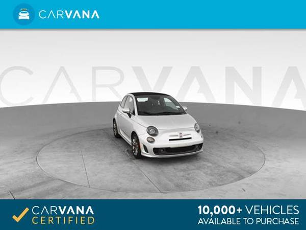 2014 FIAT 500c GQ Edition Cabriolet 2D Convertible Silver - FINANCE for sale in Atlanta, CA