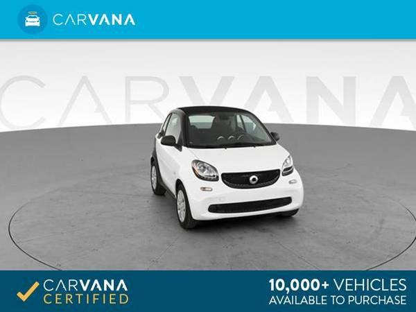 2017 smart fortwo Proxy Hatchback Coupe 2D coupe Black - FINANCE for sale in Arlington, District Of Columbia