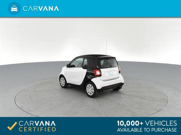 2017 smart fortwo Proxy Hatchback Coupe 2D coupe Black - FINANCE for sale in Arlington, District Of Columbia – photo 8