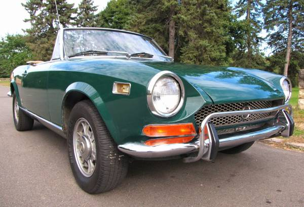 1972 Fiat 124 Spider, Classic Sportscar in Solid Condition for sale in Minneapolis, MN – photo 7