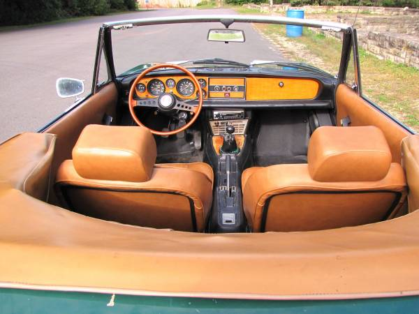 1972 Fiat 124 Spider, Classic Sportscar in Solid Condition for sale in Minneapolis, MN – photo 13