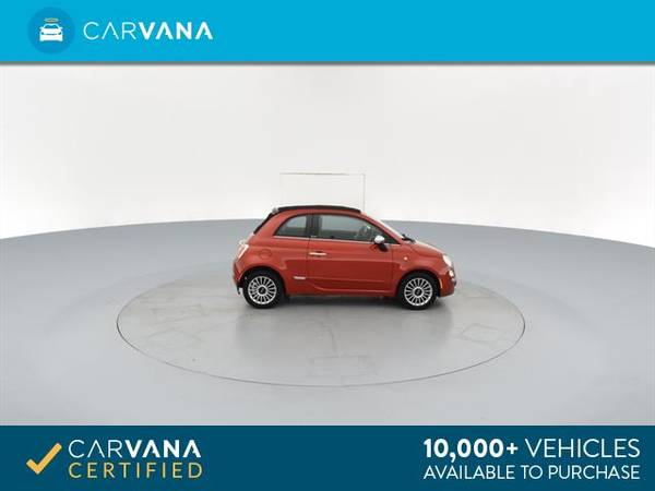 2012 FIAT 500 500C Lounge Convertible 2D Convertible RED - FINANCE for sale in Macon, GA – photo 10