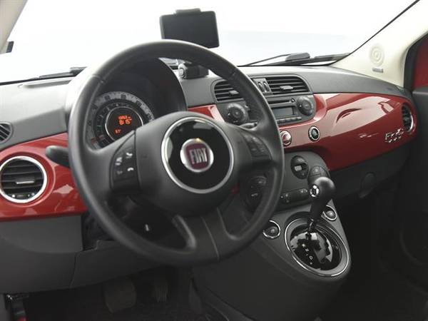 2012 FIAT 500 500C Lounge Convertible 2D Convertible RED - FINANCE for sale in Macon, GA – photo 2