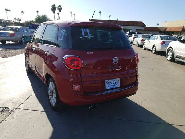2014 Fiat 500L Easy FREE CARFAX ON EVERY VEHICLE for sale in Glendale, AZ – photo 3