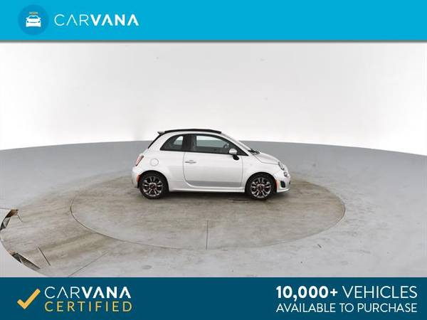 2014 FIAT 500c GQ Edition Cabriolet 2D Convertible Silver - FINANCE for sale in Atlanta, CA – photo 10