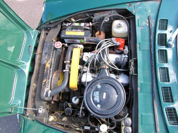 1972 Fiat 124 Spider, Classic Sportscar in Solid Condition for sale in Minneapolis, MN – photo 20