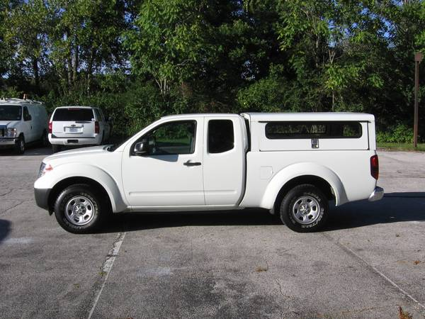 ***14 Frontier king cab, 82k mi, side entry contractor shell, 2wd *** for sale in Ballwin, IL – photo 5
