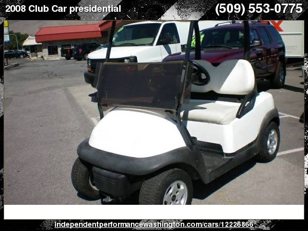 2002 Club Car presidential 48 volt with for sale in Wenatchee, WA