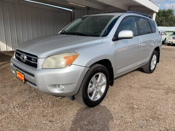 2007 TOYOTA RAV4 LIMITED for sale in Amarillo, TX