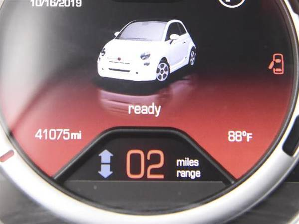2014 FIAT 500e Hatchback 2D hatchback ORANGE - FINANCE ONLINE for sale in Tucson, AZ – photo 3
