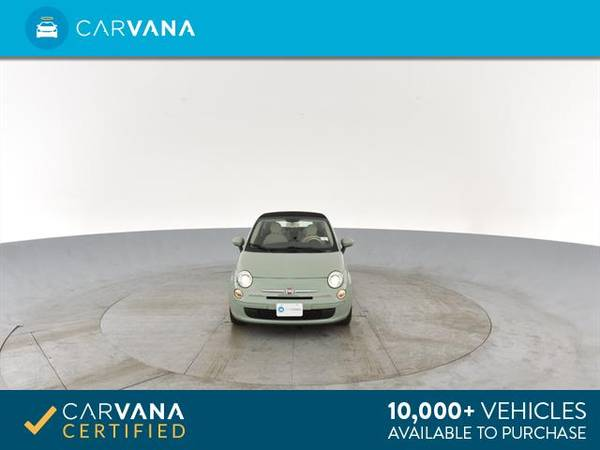 2013 FIAT 500 500c Pop Cabrio Convertible 2D Convertible Green - for sale in Sacramento , CA – photo 19