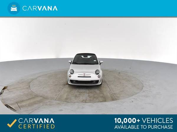 2014 FIAT 500c GQ Edition Cabriolet 2D Convertible Silver - FINANCE for sale in Atlanta, CA – photo 19